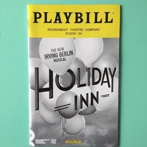 Playbill Holiday Inn Bryce Pinkham Corbin Bleu New